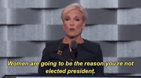 #NastyWomen, let's do this thing. #debatenight https://t.co/5RL8JcMNbT