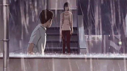 『言の葉の庭』は新海監督作品の中で一番おすすめストーリーもいいし雨の表現が本当に美しい