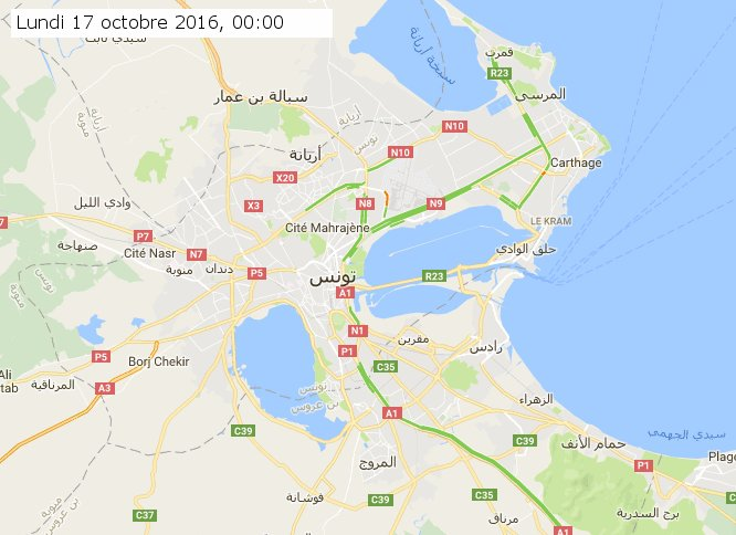 timelapse traffic jam on tunis using https://t.co/1dvRc4kUHt by @fourat https://t.co/4uxQoI2lh8