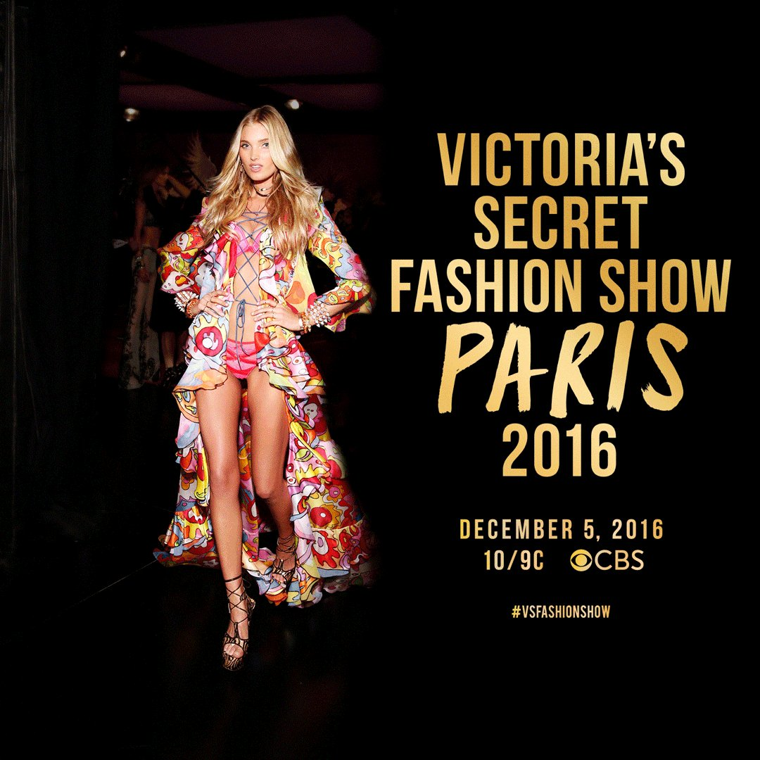 For the 1st time ever, the #VSFashionShow will be filmed in PARIS! Watch it on @cbs Dec. 5. https://t.co/w15QoRqhSW