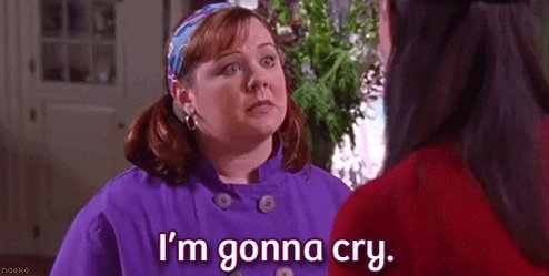 Me after Gilmore Girls trailer