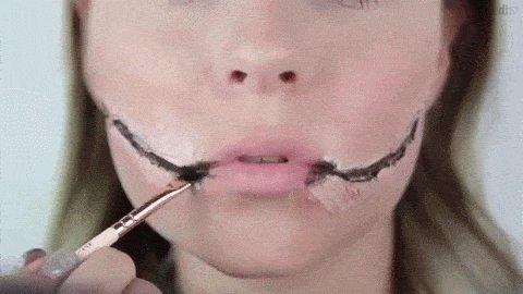 Behold the weird, transgressive world of Halloween make-up