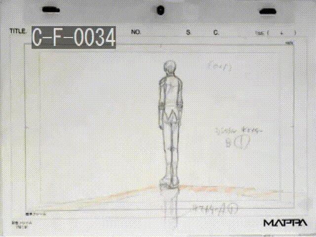 制作会社のMAPPAさんより頂いた、フィギュアスケートアニメーション担当・立中順平さん作画のお宝映像を大公開!!! 紙と