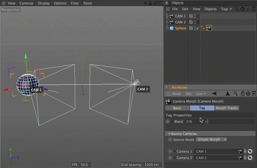 Did you know you can add a Camera Morph-tag to anything in #C4D? That should spice up your Friday evening! #Quick #Tip https://t.co/nZhc1ohGvm