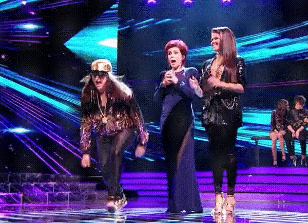 Sliding through Monday morning as effortlessly as Honey G in those trousers. https://t.co/dXdIf8Q2qi