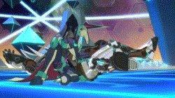 マジンボーンは、(作画省エネのための)ビームとか衝撃波じゃなくて、フル肉弾戦がカッコいいんですよ。CGのうまい使い方とい