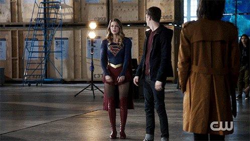 Ladies and gentlemen…Supergirl! #TheFlash #DCWeek