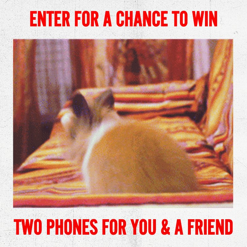 TAKE TWO GIVEAWAY! RT and tag a friend for a chance to win a new @LGUSAMobile phone!