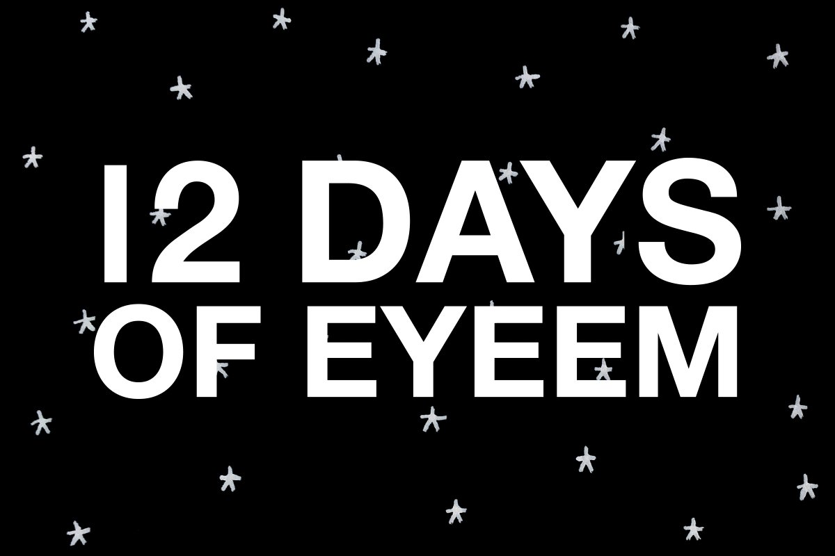 It's back! It's back! #12DaysOfEyeEm 2016 is here – check back for a new chance to win every day