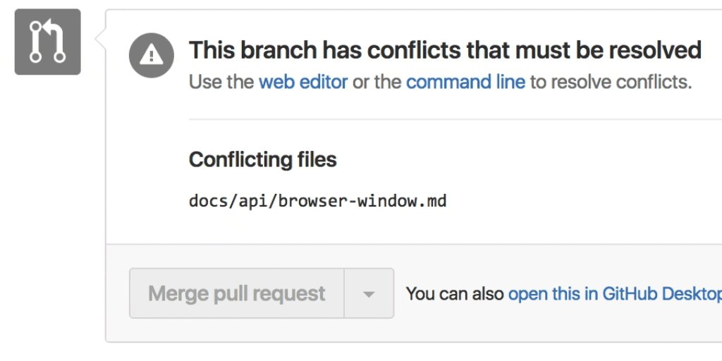Resolve simple merge conflicts directly from your pull requests! https://t.co/DJWIFVQvTX https://t.co/tLonPkMB3j
