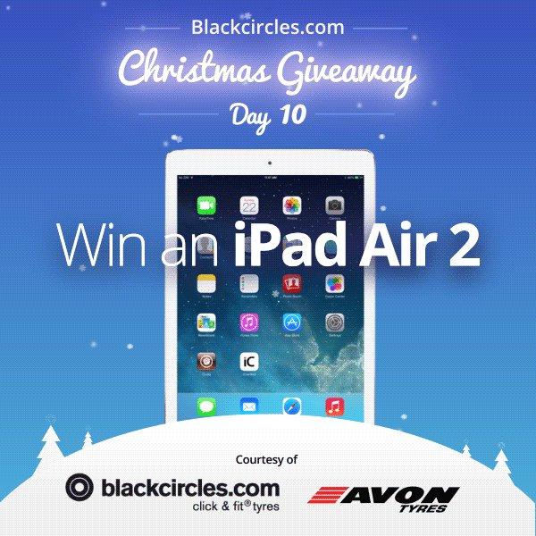 #WIN #iPadAir2 - DAY10 #Advent RT&F @blackcircles. https://t.co/CN6lxsp8RH ends 8/1/17 #giveaway #Xmas #ipad https://t.co/1YgyG1G3hN
