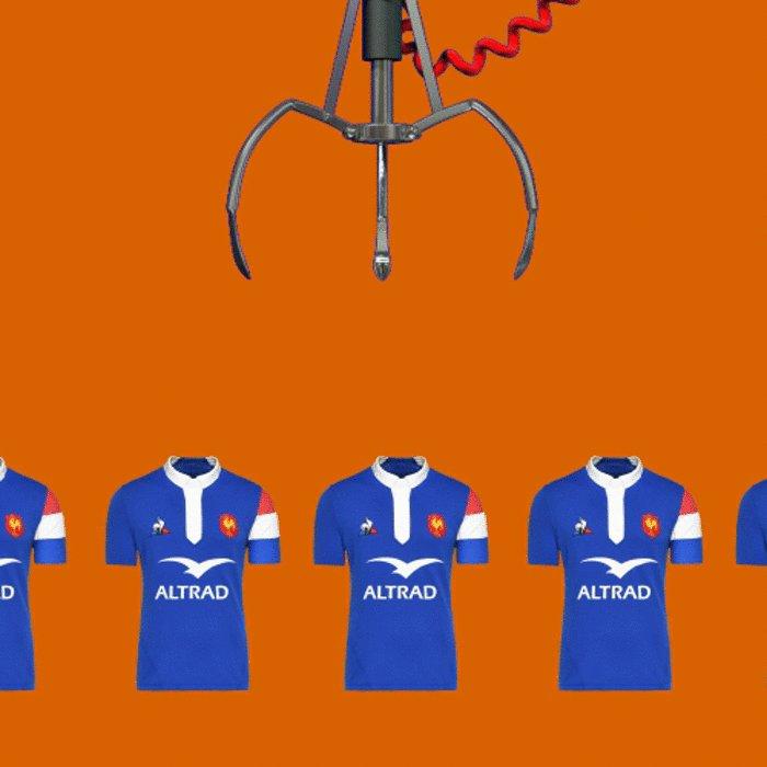 🎁 CONCOURS 🎁  Envie de gagner un maillot (bleu 🤗) du #XVdeFrance 🇫🇷  RT + Follow pour participer 😉  #FRAECO #AvecleXV