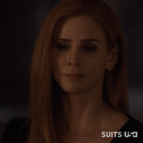 RT @Suits_USA: What's Donna supposed to do? #Suits https://t.co/T7aYyPIYMG