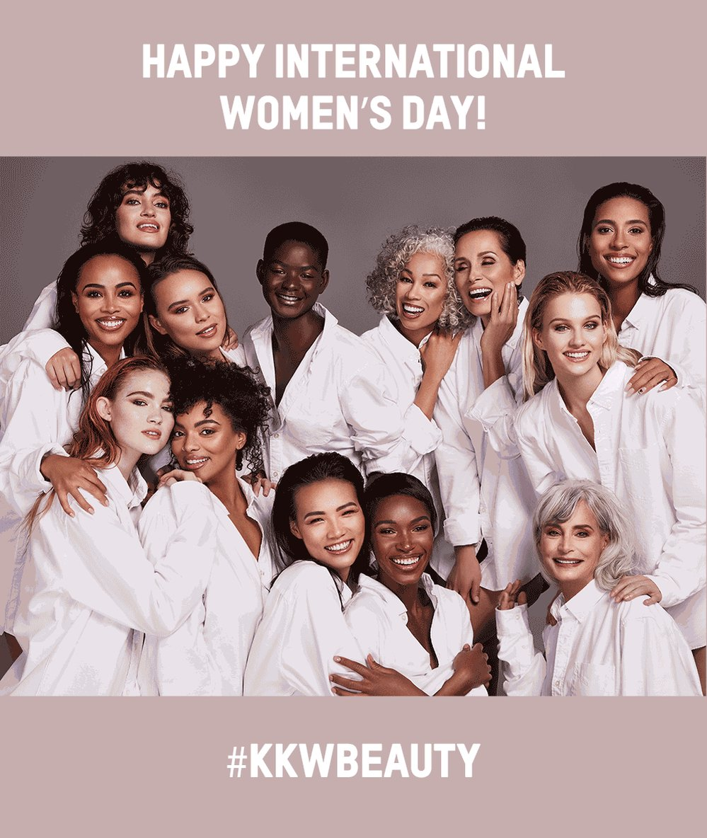 RT @kkwbeauty: Happy #InternationalWomensDay https://t.co/01WzN3W0KI