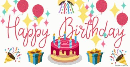 Happy Birthday   Feliz Cumpleanos.