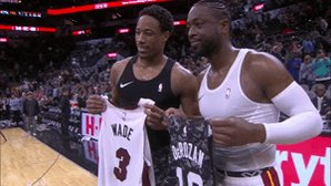 RT @NBA: DeMar x D-Wade  #OneLastDance https://t.co/9oo6Eajwie