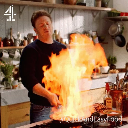 Fast and fieryous. Anyone else like this in the kitchen? ????  #QuickAndEasyFood https://t.co/O2yuSvpezp