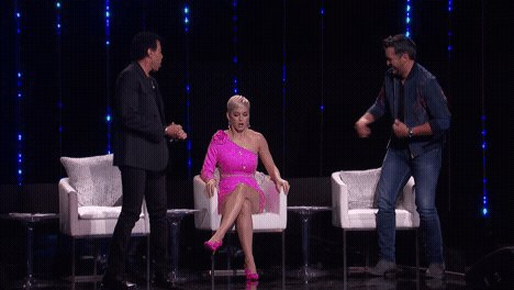 Also p.s. I asked @lukebryanonline to walk the walk and immediately regretted it ????????#AmericanIdol https://t.co/tei4Xdyzw7