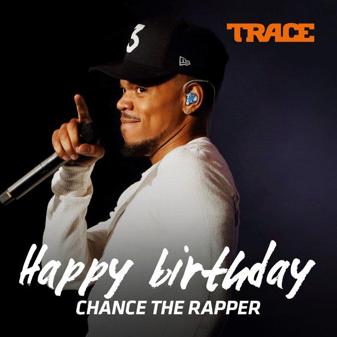 Happy Birthday to Chance the Rapper a true trial blazer!