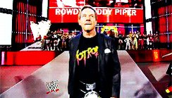 Happy Birthday in Heaven Rowdy Roddy Piper!