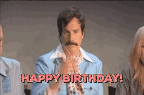 Happy birthday Yannick