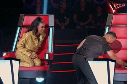 What can I say, the new guy was getting on my nerves. ????  #SorryNotSorry #TheVoiceAU https://t.co/8VhHRubqt7