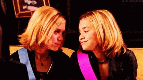 Happy birthday Mary Kate and Ashley Olsen.