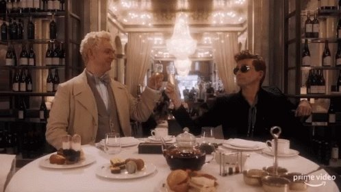 Good Omens is so magical and hilarious, I'm so excited to have a show I can't wait to watch more of tonight! https://t.co/iis6afplIg