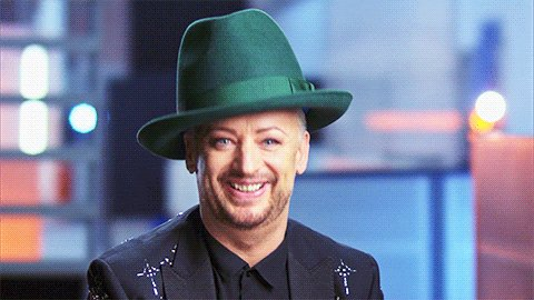 Boy George was born on this day in 1961! Happy Birthday!