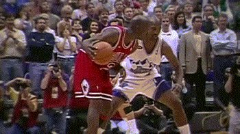 """RT @Ballislife: """"That wasn't a push off. It was a  helping hand to a broke down comrade."""" - Phil Jackson https://t.co/KfSpofD8Y7"""