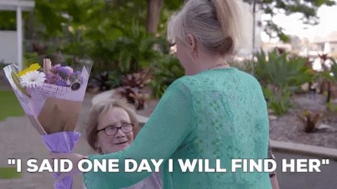 """RT @longlostfamily: """"I said one day I will find her"""" - Margaret #LongLostFamily @ThisisDavina @NickyAACampbell @ITV https://t.co/PyO5gvt3tX"""