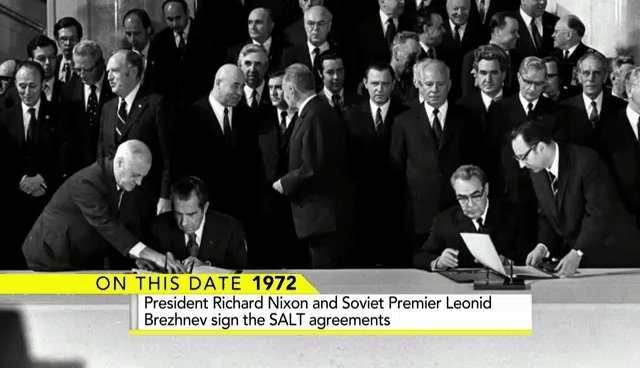 On This Day In 1972 President Richard Nixon And Soviet Premier