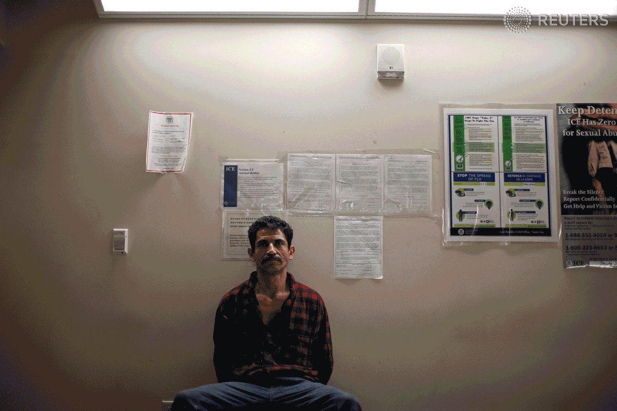 PHOTOS: Inside an ICE immigration raid in Canada. via ? @lucy_nicholson