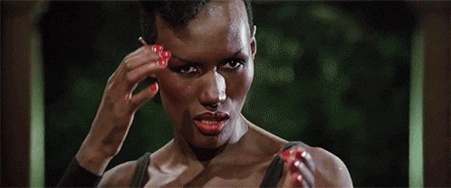 A happy 69th birthday to a huge favourite of ours, the one and only Grace Jones!