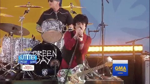 SECOND SONG Still Breathing@GreenDay #GreenDayOnGMA