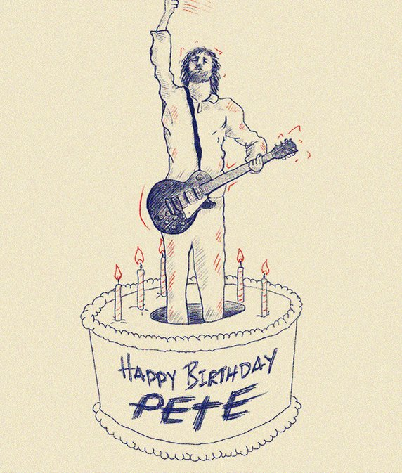 Happy Birthday to Pete Townshend of !