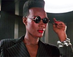 Happy Birthday to Jamaican-born singer Grace Jones (5/19/1948)