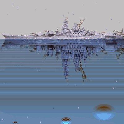 超戦艦ヤマト(蒼き鋼のアルペジオより アオシマ製)完成記念写真 #アルペジオ #アオシマ ラスト です。