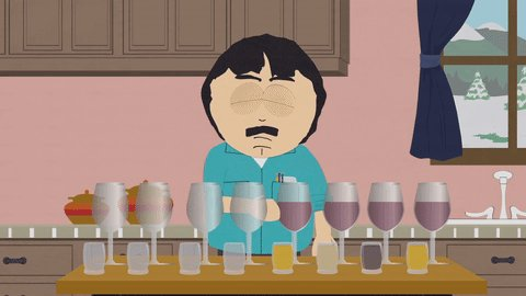 Randy is celebrating #NationalWineDay. Are you?  It's called a smorgas...