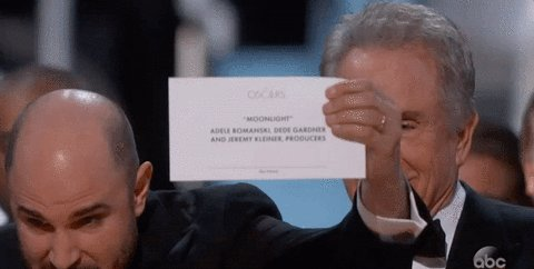 5 awards shows that have mocked the epic Oscars Best Picture flub