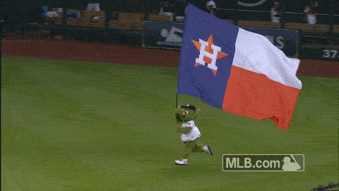 Giles with the save and the Astros take the series opener! Bring on the fireworks!#AstrosWin 2-0