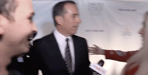 Jerry Seinfeld denied Kesha's hug not once, not twice, but three times.