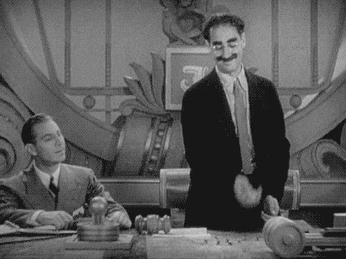 #Groucho: