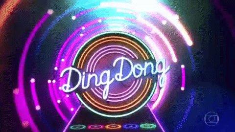 RT @gshow: Hora do #DingDong! #Domingão https://t.co/KhGMrGd6JO