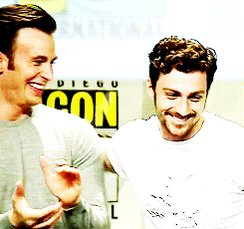 Happy birthday to Chris Evans and Aaron Taylor-Johnson