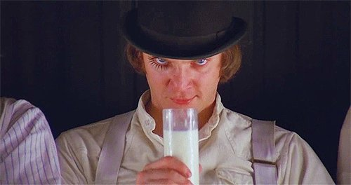 Raise a glass to th\ old Droog -happy birthday Malcolm McDowell.
