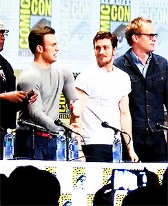 Happy birthday to the Marvel boys, Chris Evans & Aaron Taylor Johnson