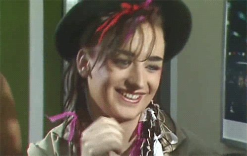 Happy 56th birthday to Boy George!