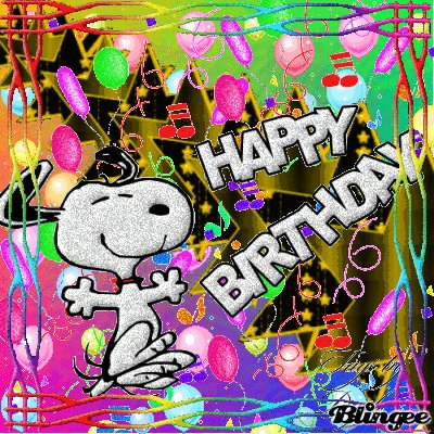 Happy Birthday! Have a awesome day!