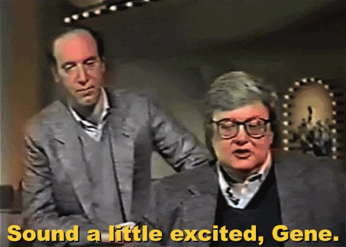 Happy birthday, Roger Ebert.